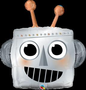 Giant Robot Head