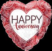 Anniversary Ruby Heart