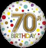 70th Birthday Spots