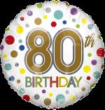 80th Birthday Spots