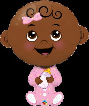 Cute Baby Girl Darker Skin Tone