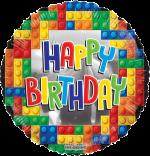 Happy Birthday Lego Blocks