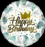 Birthday Gold Crown