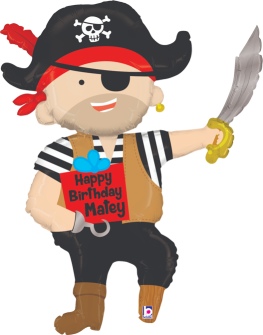 Happy Birthday Matey Pirate